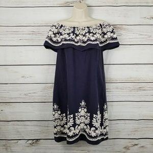Label by Five Twelve Embroider Off Shoulder Dress